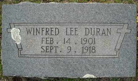 DURAN, WINFRED LEE - Faulkner County, Arkansas | WINFRED LEE DURAN - Arkansas Gravestone Photos