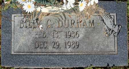 DURHAM, BILLY C. - Faulkner County, Arkansas | BILLY C. DURHAM - Arkansas Gravestone Photos