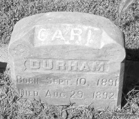 DURHAM, CARL - Faulkner County, Arkansas | CARL DURHAM - Arkansas Gravestone Photos