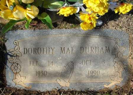 DURHAM, DOROTHY MAE - Faulkner County, Arkansas | DOROTHY MAE DURHAM - Arkansas Gravestone Photos