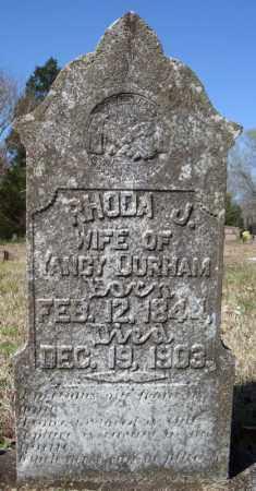 DURHAM, RHODA J. - Faulkner County, Arkansas | RHODA J. DURHAM - Arkansas Gravestone Photos