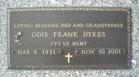DYKES (VETERAN), ODIS FRANK - Faulkner County, Arkansas | ODIS FRANK DYKES (VETERAN) - Arkansas Gravestone Photos