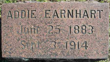 EARNHART, ADDIE - Faulkner County, Arkansas | ADDIE EARNHART - Arkansas Gravestone Photos