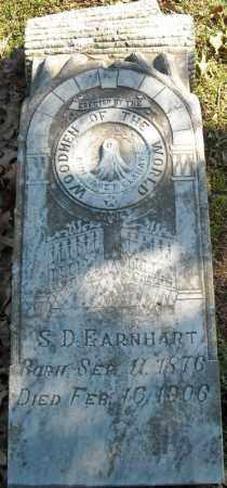 EARNHART, S.D. - Faulkner County, Arkansas | S.D. EARNHART - Arkansas Gravestone Photos
