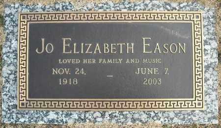 EASON, JO ELIZABETH - Faulkner County, Arkansas | JO ELIZABETH EASON - Arkansas Gravestone Photos