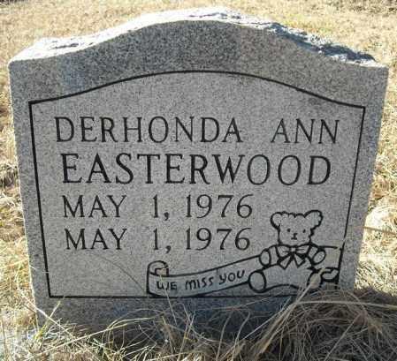 EASTERWOOD, DERHONDA ANN - Faulkner County, Arkansas | DERHONDA ANN EASTERWOOD - Arkansas Gravestone Photos