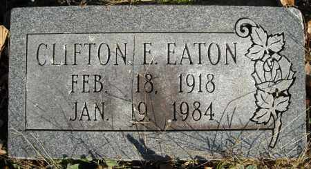 EATON, CLIFTON E. - Faulkner County, Arkansas | CLIFTON E. EATON - Arkansas Gravestone Photos