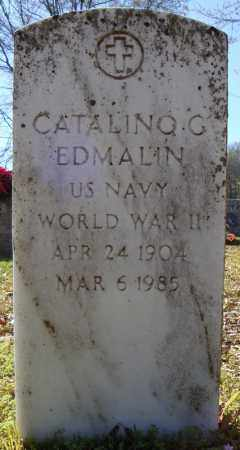 EDMALIN (VETERAN WWII), CATALINO G - Faulkner County, Arkansas | CATALINO G EDMALIN (VETERAN WWII) - Arkansas Gravestone Photos