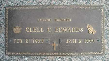 EDWARDS (VETERAN), CLELL C - Faulkner County, Arkansas | CLELL C EDWARDS (VETERAN) - Arkansas Gravestone Photos