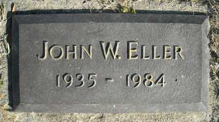 ELLER, JOHN W. - Faulkner County, Arkansas | JOHN W. ELLER - Arkansas Gravestone Photos