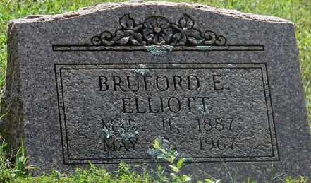 ELLIOTT, BRUFORD E. - Faulkner County, Arkansas | BRUFORD E. ELLIOTT - Arkansas Gravestone Photos