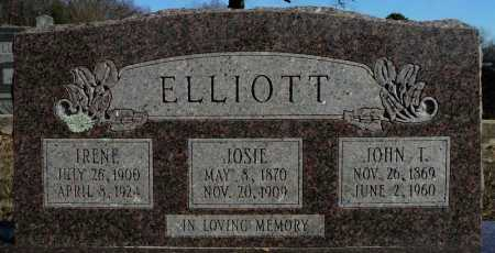 ELLIOTT, JOHN T. - Faulkner County, Arkansas | JOHN T. ELLIOTT - Arkansas Gravestone Photos