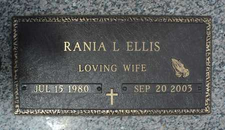 ELLIS, RANIA L. - Faulkner County, Arkansas | RANIA L. ELLIS - Arkansas Gravestone Photos