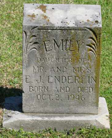 ENDERLIN, EMILY - Faulkner County, Arkansas | EMILY ENDERLIN - Arkansas Gravestone Photos