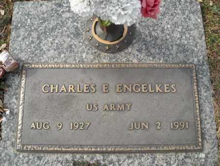 ENGELKES (VETERAN), CHARLES E - Faulkner County, Arkansas | CHARLES E ENGELKES (VETERAN) - Arkansas Gravestone Photos