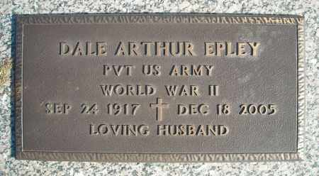EPLEY (VETERAN WWII), DALE ARTHUR - Faulkner County, Arkansas | DALE ARTHUR EPLEY (VETERAN WWII) - Arkansas Gravestone Photos
