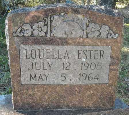 ESTER, LOUELLA - Faulkner County, Arkansas | LOUELLA ESTER - Arkansas Gravestone Photos