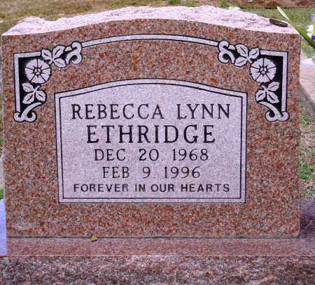 ETHRIDGE, REBECCA LYNN - Faulkner County, Arkansas | REBECCA LYNN ETHRIDGE - Arkansas Gravestone Photos