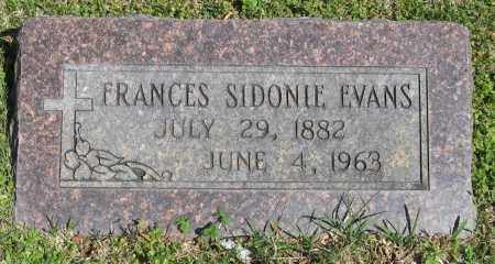 EVANS, FRANCES SIDONIE - Faulkner County, Arkansas | FRANCES SIDONIE EVANS - Arkansas Gravestone Photos