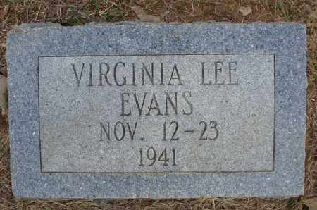 EVANS, VIRGINIA LEE - Faulkner County, Arkansas | VIRGINIA LEE EVANS - Arkansas Gravestone Photos