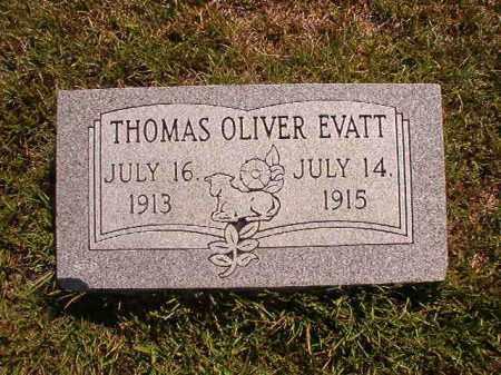 EVATT, THOMAS OLIVER - Faulkner County, Arkansas | THOMAS OLIVER EVATT - Arkansas Gravestone Photos