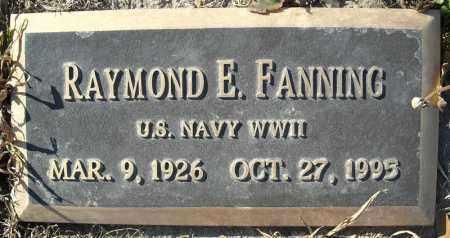 FANNING (VETERAN WWII), RAYMOND E - Faulkner County, Arkansas | RAYMOND E FANNING (VETERAN WWII) - Arkansas Gravestone Photos