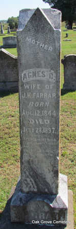 FARRAR, AGNES C. - Faulkner County, Arkansas | AGNES C. FARRAR - Arkansas Gravestone Photos