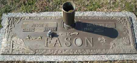 FASON, JESSE E. - Faulkner County, Arkansas | JESSE E. FASON - Arkansas Gravestone Photos