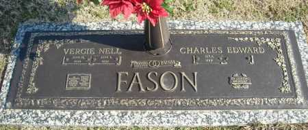 FASON, VERGIE NELL - Faulkner County, Arkansas | VERGIE NELL FASON - Arkansas Gravestone Photos