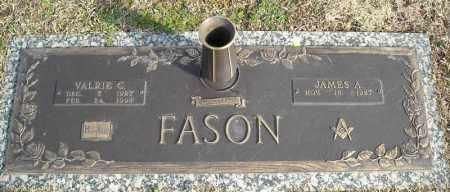 FASON, VALRIE C. - Faulkner County, Arkansas | VALRIE C. FASON - Arkansas Gravestone Photos