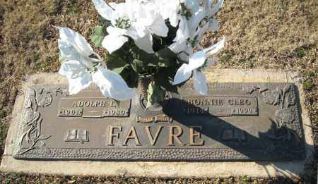 FAVRE, BONNIE CLEO - Faulkner County, Arkansas | BONNIE CLEO FAVRE - Arkansas Gravestone Photos