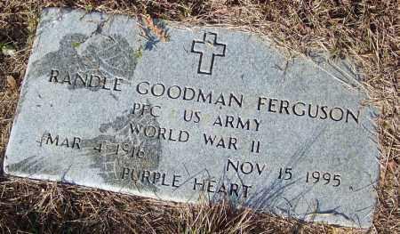 FERGUSON (VETERAN WWII), RANDLE GOODMAN - Faulkner County, Arkansas | RANDLE GOODMAN FERGUSON (VETERAN WWII) - Arkansas Gravestone Photos