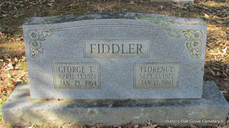 FIDDLER, GEORGE THOMAS - Faulkner County, Arkansas | GEORGE THOMAS FIDDLER - Arkansas Gravestone Photos