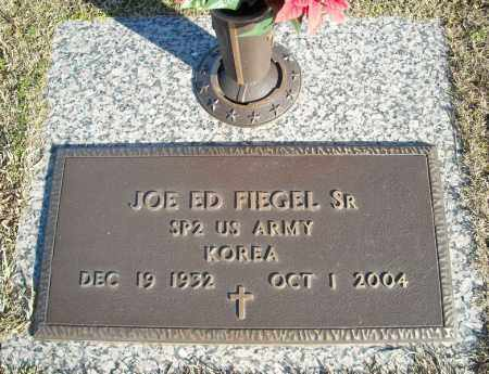 FIEGEL, SR (VETERAN KOR), JOE ED - Faulkner County, Arkansas | JOE ED FIEGEL, SR (VETERAN KOR) - Arkansas Gravestone Photos