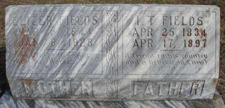 FIELDS, I.T. - Faulkner County, Arkansas | I.T. FIELDS - Arkansas Gravestone Photos