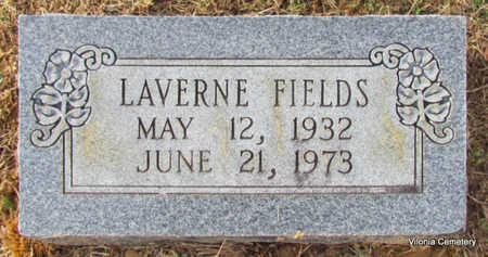FIELDS, LAVERNE - Faulkner County, Arkansas | LAVERNE FIELDS - Arkansas Gravestone Photos