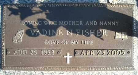 FISHER, VADINE N. - Faulkner County, Arkansas | VADINE N. FISHER - Arkansas Gravestone Photos