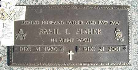 FISHER (VETERAN WWII), BASIL L - Faulkner County, Arkansas | BASIL L FISHER (VETERAN WWII) - Arkansas Gravestone Photos