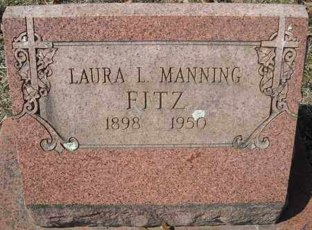 MANNING FITZ, LAURA L. - Faulkner County, Arkansas | LAURA L. MANNING FITZ - Arkansas Gravestone Photos