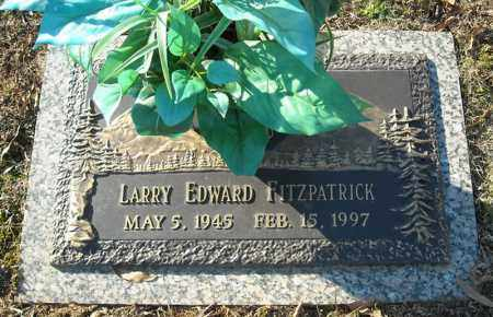 FITZPATRICK, LARRY EDWARD - Faulkner County, Arkansas | LARRY EDWARD FITZPATRICK - Arkansas Gravestone Photos