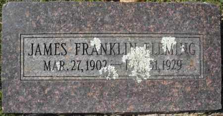 FLEMING, JAMES FRANKLIN - Faulkner County, Arkansas | JAMES FRANKLIN FLEMING - Arkansas Gravestone Photos