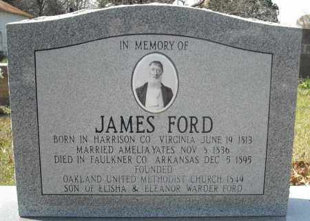 FORD, JAMES - Faulkner County, Arkansas | JAMES FORD - Arkansas Gravestone Photos