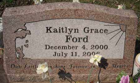 FORD, KAITLYN GRACE - Faulkner County, Arkansas | KAITLYN GRACE FORD - Arkansas Gravestone Photos