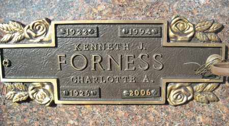 FORNESS, KENNETH J. - Faulkner County, Arkansas | KENNETH J. FORNESS - Arkansas Gravestone Photos
