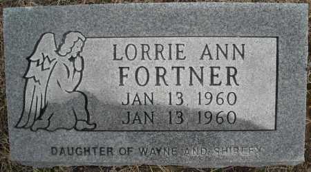 FORTNER, LORRIE ANN - Faulkner County, Arkansas | LORRIE ANN FORTNER - Arkansas Gravestone Photos