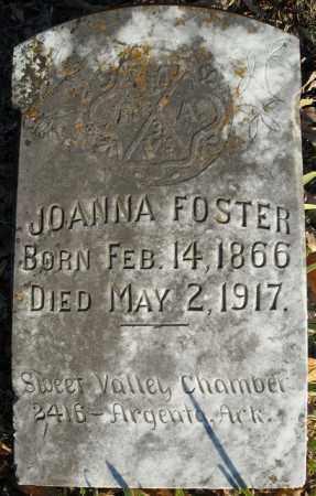 FOSTER, JOANNA - Faulkner County, Arkansas | JOANNA FOSTER - Arkansas Gravestone Photos