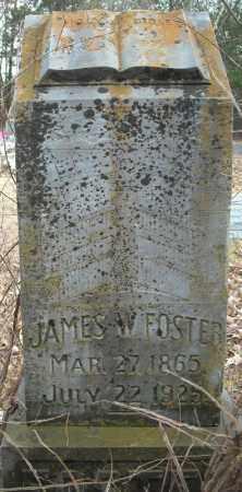 FOSTER, JAMES W. - Faulkner County, Arkansas | JAMES W. FOSTER - Arkansas Gravestone Photos