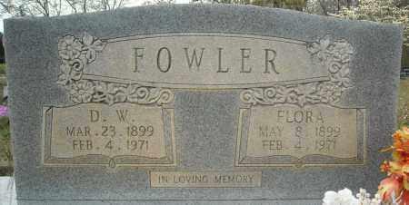 FOWLER, FLORA - Faulkner County, Arkansas | FLORA FOWLER - Arkansas Gravestone Photos