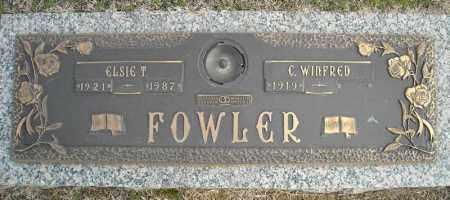 FOWLER, ELSIE T. - Faulkner County, Arkansas | ELSIE T. FOWLER - Arkansas Gravestone Photos