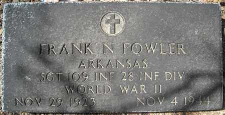 FOWLER (VETERAN WWII KIA), FRANK N - Faulkner County, Arkansas | FRANK N FOWLER (VETERAN WWII KIA) - Arkansas Gravestone Photos